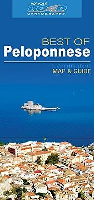 **NEW** - Peloponnese best of road ed. wp (Map) 960448978X