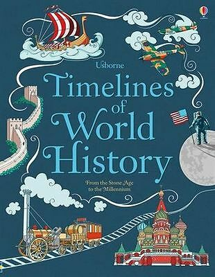 **NEW** - Timelines of World History (Hardcover) 1474903932