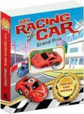 **NEW** - My Racing Car Fold Out Track (Hardcover) 1742486037