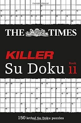 **NEW** - The Times Killer Su Doku Book 11 (Paperback) 0007580819