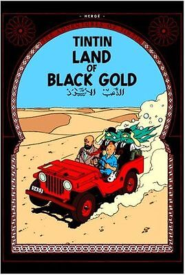 **NEW** - Land of Black Gold (The Adventures of Tintin) (Hardcover) 1405208147