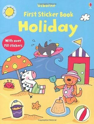 **NEW** - Holiday (Usborne First Sticker Books) (Paperback) 1409520463