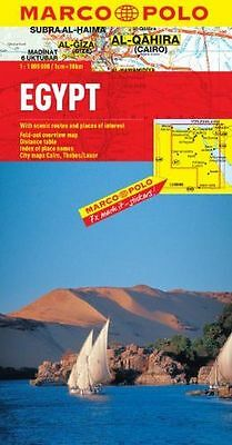 **NEW** - Egypt Marco Polo Map (Marco Polo Maps) (Map) 3829767293
