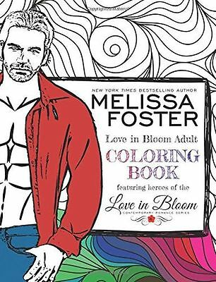 **NEW** - Love in Bloom Adult Coloring Book: Volume 1 (Paperback) 1941480640