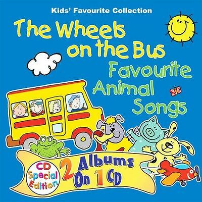 **NEW** - The Wheels on the Bus: Favourite Animal Songs (Audio CD) 1903929660