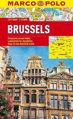 **NEW** - Brussels Marco Polo City Map (Marco Polo City Maps) (Map) 3829769644