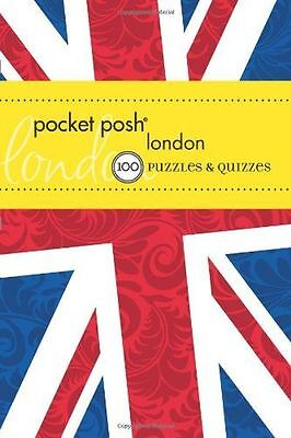 **NEW** - Pocket Posh London: 100 Puzzles & Quizzes (Paperback) 1449411584