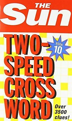 **NEW** - The Sun Two-Speed Crossword Book 10: Bk. 10 (Paperback) 0007264461