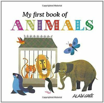 **NEW** - My First Book of Animals (Board book) 1908985038