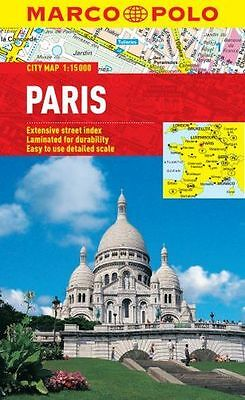 **NEW** - Paris Marco Polo City Map (Marco Polo City Maps) (Map) 3829769571