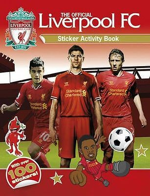 NEW - The Official Liverpool FC Sticker Activity Book (Paperback) 178097325X