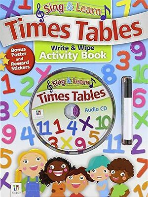**NEW** - Sing and Learn Times Tables Updated (Hardcover) 1743084757