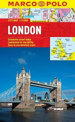 **NEW** - London Marco Polo City Map (Marco Polo City Maps) (Map) 3829769547