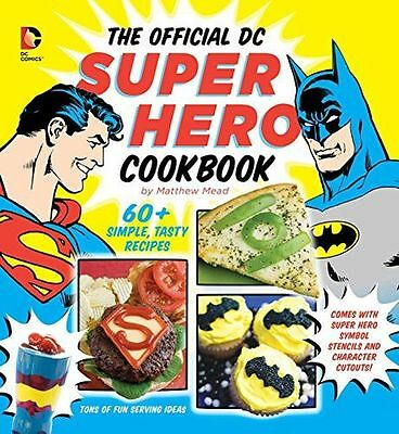 **NEW** - The Official DC Super Hero Cookbook (Hardcover) 1935703919