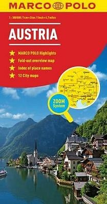 **NEW** - Austria Marco Polo Map (Marco Polo Maps) (Map) 3829767153