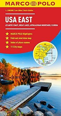 **NEW** - USA East Marco Polo Map (Marco Polo Maps) (Map) 3829767374