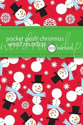 NEW - Pocket Posh Christmas Word Roundup: 100 Puzzles (Paperback) 0740799584