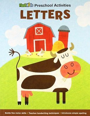 **NEW** - Letters (Flash Kids Preschool Activity Books) (Paperback) 1411458087