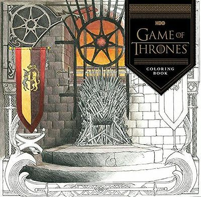 **NEW** - HBO's Game of Thrones Colouring Book (Paperback) 1452154309