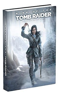 NEW - Rise of the Tomb Raider Collector's Edition Guide (Hardcover) 0744016657