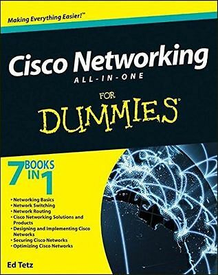 **NEW** - Cisco Networking All-in-One For Dummies (Paperback) 0470945583