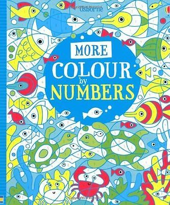 NEW - More Colour by Numbers (Usborne Colour By Numbers) (Paperback) 1409563464