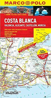 **NEW** - Costa Blanca Marco Polo Map (Marco Polo Maps) (Map) 382976779X