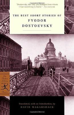 NEW - The Best Short Stories of Dostoevsky (Modern Library) (PB) 0375756884