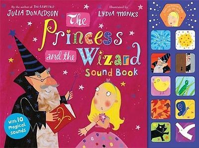 **NEW** - The Princess and the Wizard (Sound book) (Hardcover) 0230770207