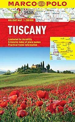 NEW - Tuscany Marco Polo Holiday Map (Marco Polo Holiday Maps) (Map) 3829770294