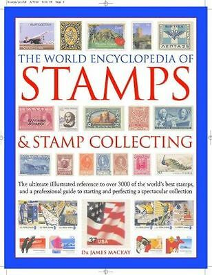 NEW - The World Encyclopedia of Stamps and Stamp Collecting (HC) 0754815307