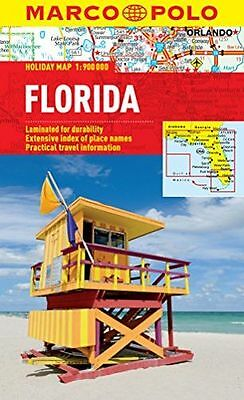 NEW - Florida Marco Polo Holiday Map (Marco Polo Holiday Maps) (Map) 3829770235