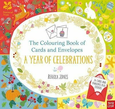 The Colouring Book of Cards and Envelopes: A Year of (PB) 0857638564