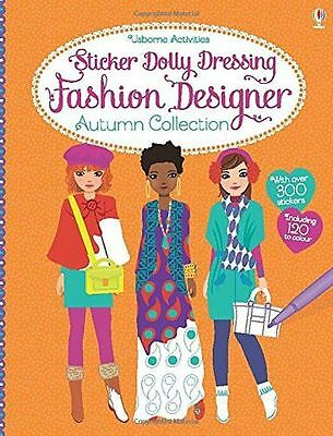 NEW - Sticker Dolly Dressing Fashion Designer Autumn Collection (PB) 140957055X