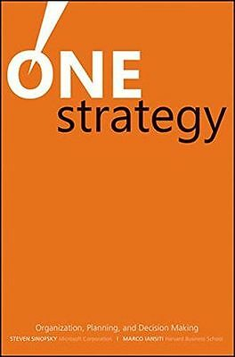 NEW - One Strategy: Organization, Planning, and Decision Making (HC) 0470560452