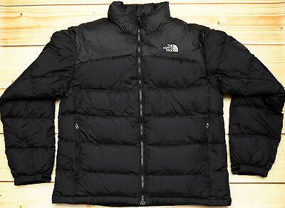 THE NORTH FACE NUPTSE 2 - 700 GOOSE DOWN warm MEN'S PUFFER JACKET - size L
