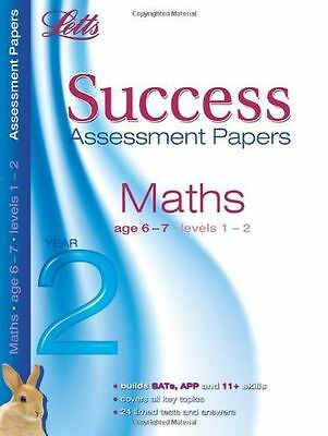 NEW - Maths Age 6-7: Assessment Papers (Letts 11+ Success) (PB) 1844195503