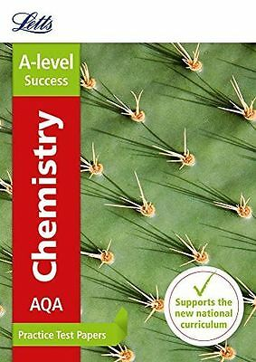 AQA A-level Chemistry Practice Test Papers (Letts A-level (PB) 0008179026