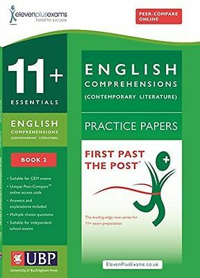 11+ Essentials English: Comprehensions (Contemporary) Practice (PB) 1908684488