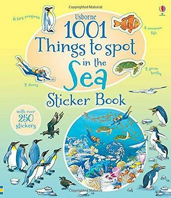 1001 Things to Spot in the Sea Sticker Book (1001 Things to (PB) 1409583414