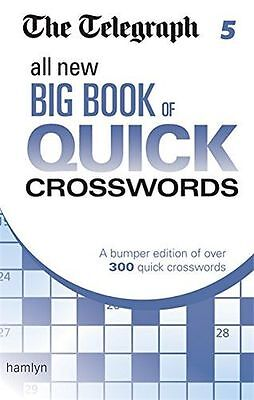 The Telegraph: All New Big Book of Quick Crosswords 5 (The (PB) 0600633160