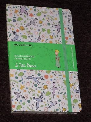 Petit Prince Canvas Moleskine Large Hardback Notebook (13x21cm) Ruled NEW/SEALED