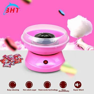Cotton Candy Maker Mini Portable Electric Machine DIY Sweet Sugar Gummy 500 Watt