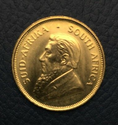 1984 Gold South Africa Half Krugerrand in uncirculated condition