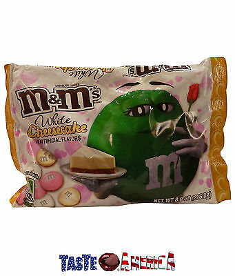 M&Ms White Cheesecake Bite Sized Chocolate Candies 226.8g