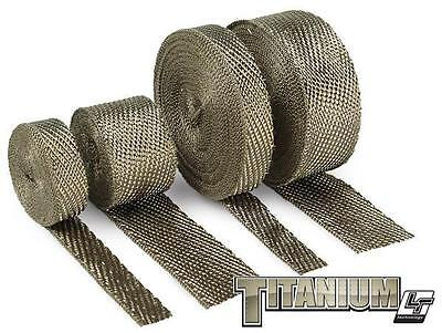 "DEI Titanium exhaust and pipe wrap 2"" x 50' UP TO 900 DIRECT HEAT performance"