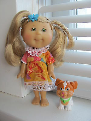 Lil' Sprouts Cabbage Patch little Sprouts doll with dog