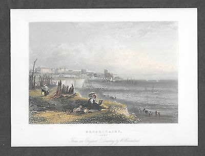 Colour Engraving of Broadstairs, Kent, 19th c