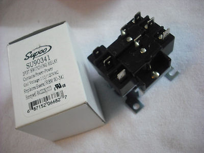 Relay, Switch, 2PDT Switching Relay 110V Coil, SU90341