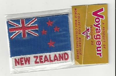 Country Of New Zealand Souvenir Patch -  Flag